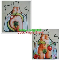 Adam and Eve Sexy Funny Kitchen Apron 1set=2pcs