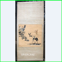 000022 - Unique Ancient Handpainted Tranditional Chinese Landscape Scroll Painting Chinese Painting Fast Shipping