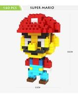 Free shipping LOZ Cartoon Character Model Diamond Building Blocks Toys Best gift for children Super Mario, Minions, Monster Inc