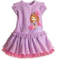 Free shipping children dress Princess Princess Sofia sleeved veil girl baby dress
