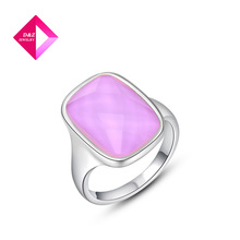 Fashion Jewelry Wholesal,Platinum rounded pink diamond ring Jewelry ,ring series