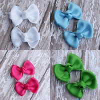 12pcs/lot 2''  baby lovely hair bows little hair bows hair clips hair accessories