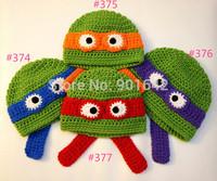 Wholesale Crochet Ninja Turtles Hat, Teenage Mutant Ninja Turtles Hat, TMNT, Crochet Baby Hat, Animal Baby Hat, photo prop