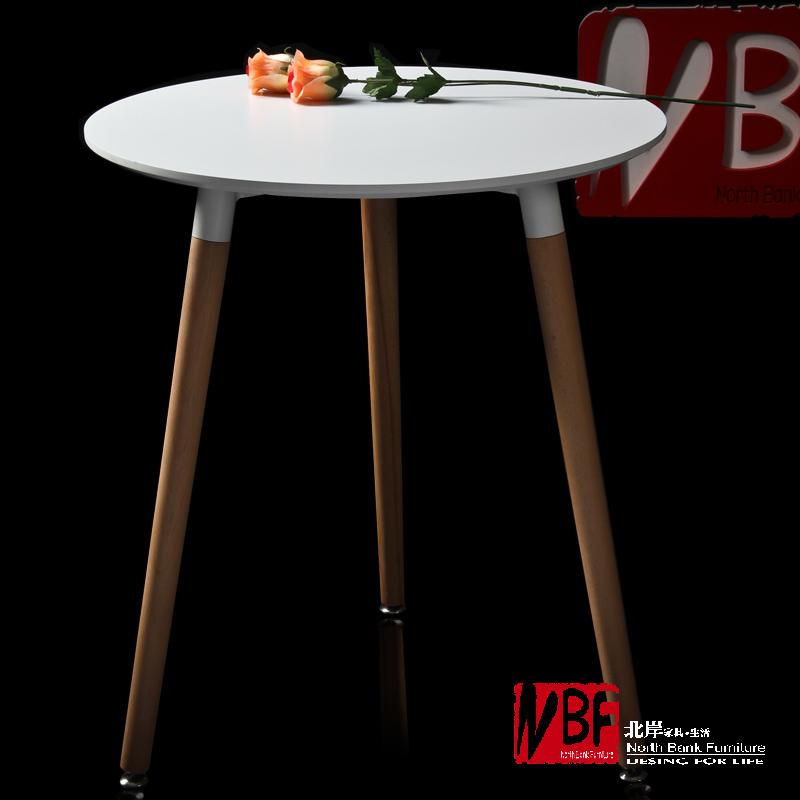 Meubles ikea north shore table ronde moderne bois for Pied de table original