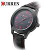 2014 hot sale CURREN 8094 Men's Round Dial Leather Band Watch Men Wrist Watch with Calendar