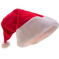 200pcs/lot adult red the ordinary Christmas hats Santa hats Children cap