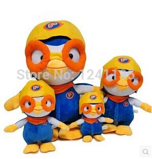 High Quality 40cm Penguin Pororo Anime Plush Toys Penguin Plush Stuffed Animals Kids Toys Plush Doll(China (Mainland))