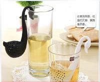 Swan Spoon Tea Strainer Infuser Teaspoon Filter Drinkware Tea Filter TeaSpoon Teapot accessories Households Gadget Tea ball