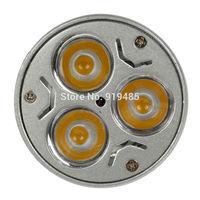 LED 3*3W E27 Spotlight LED Light Bulb Spotlight Lamp Warm White free shipping