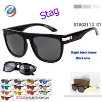 New 2014 Free Shipping Brand Stag Sun Glasses Sport Men Square Cycling Glasses Women Sunglasses Oculos Feminino Eyewear