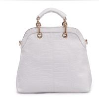 Korean version of the new noble temperament crocodile handbags / hand / Messenger bag