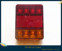 Hot ! new 1pcs 12v led tail lamp truck truck trailer truck, and other special tail lamp  light