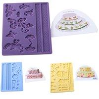 1Pcs DIY Cake Decorating Tools 6 Colors Cake Edge Frill Ribbon Embosser Cake Printing Mold Baking Tools & Pastry Tools ic672645