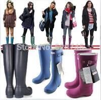 2014 Women's High Quality Rain Boots,Women's Fashion Rain Shoes,With Original Bag,Free Shipping!