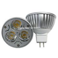 LED 3*3W MR16 Spotlight MR16 LED Light Bulb Spotlight Lamp Warm White  free shipping