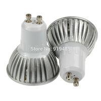 LED 3*3W GU10 Spotlight LED Light Bulb Spotlight Lamp Cool White  free shipping