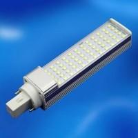 Super brightful horizontal plug E27/G24 Screw base 8W LED  PL Lamp with 2835 SMD LED corn light  for home, Commercial bulb light
