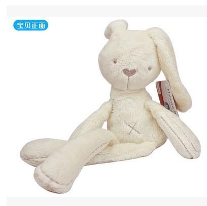 Free shipping the British Mamas&Papas Bunny hug my baby soothing Baby Plush toys(China (Mainland))