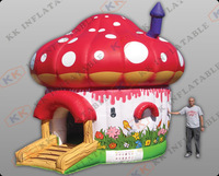 2015 beautiful inflatable bouncer,mushroom inflatable castle  KKB-L010