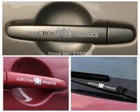 Free shipping 4pcs/lot DAD JP car 3D metal sticker car styling door handles Junction Produce reflective JP car sticker