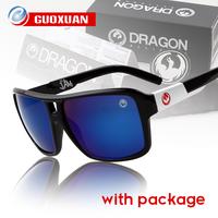 Mens Brand Designer The Jam DRAGON Sunglasses Women Outdoor Sport Hiking Sun Glasses Men with Coating Acrylic Lens &Original Box