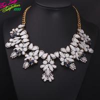 2014 New Arrival Fashion Jewelry ZA Brand Bell White Fashion Statement Good Quality Luxury Statement Jewelry 9260