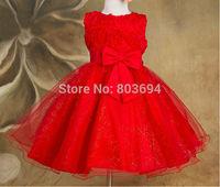 wholesale new arrive girl flower dress ,sleeveless princess summer ,many color free shipping 6pcs/lot 5031