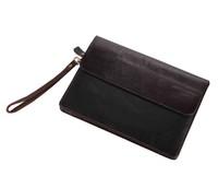 J.M.D Genuine leather men bags multifunctional cowhide leather hand bag super multi card 32 cards card holder men wallets 8038