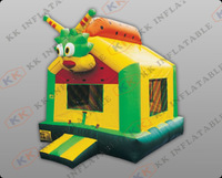 cute kids inflatable jumping castle, bouncy house for sale KKB-L021