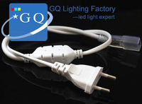 5050 3528 3014 5730 led power supply plug EU / US plug 110V 120V 220V 230V 240v  Waterproof string ribbon LED strip tape light