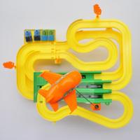 Children Electric big railroad car train toys  train track  Railway toy boy for kids Gift brinquedos carros