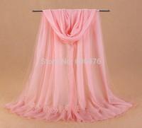 mu600 2014 Autumn new exclusive listing two layers  long scarf 200cm*80cm shawl fashion muslim turban hijab