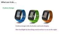 2014 new activity & sleep tracker Smart Wristband watch intelligent running pedometer sports smart band bracelet fashion watch