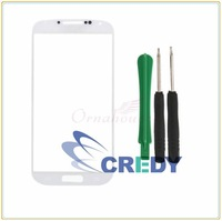 for Samsung Galaxy S4 i9500 9505 Front Replacement Screen Glass Lens White UK
