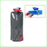 FWB01 tourism environmental sports water bag Portable folding sports water bottle foldable outdoor water bag