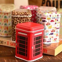 2PCS Retail Mini Tin Jewelry Box Candy Storage Can Container Box Tin Creative