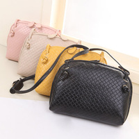Brand New 2014 Fashion Women Handbags High Quality Cute Shoulder Bag Bag Leather Cross Body Bags Women Black/Gold/Beige/Pink