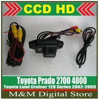 HD CCD Car Rear View Camera Reverse Parking Camera back up Camera for Toyota Land Cruiser 120 Series 02-09 Prado 2700 4000