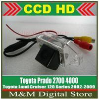 Toyota Land Cruiser 120 Series 02-09 Toyota Prado 2700 4000 HD CCD Car Rear View Camera Reverse Parking Camera back up Camera