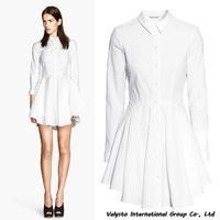 Free shipping 2014 New Fashion Note-check White Women Work Wear Women Dress Lady Dresses Cotton Polyester hot sales