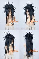 Naruto Uchiha Madara cosplay wig Kanekalon Fiber Hair full queen Wigs