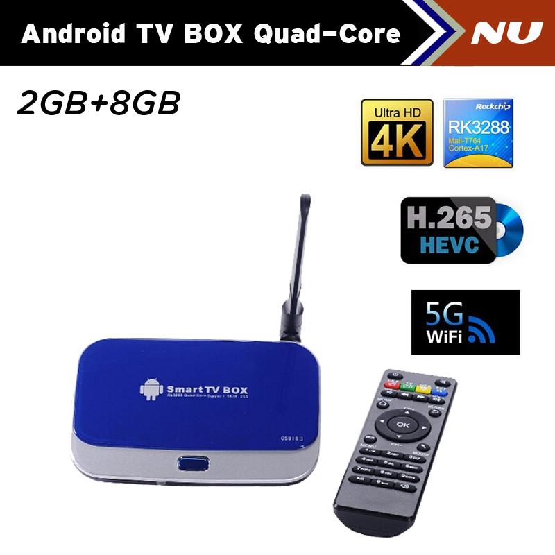 Телеприставка OEM CS918II 4.4 /rk3288 2 DDR3 + 8GB WiFi 1080P DLNA Miracast