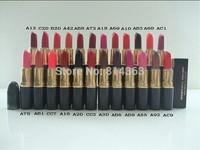 NEW hot sale high quality makeup lipstick rouge lipstick 24 colors choose (1PCS/LOT)free shipping