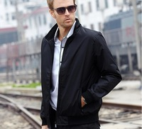The new 2014 men jacket thin British fashion autumn/winter coat Men's clothing manufacturers wholesale package mail big yard