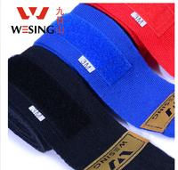 2PCS/PAIR WESING 100% cotton boxing bandage strap / Muay Thai bandage / 5cm (Width) * 3m(Length) /  free shipping