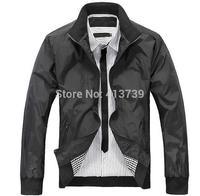 Men's autumn/winter 2014 collection Men's leisure breathable leisure jacket, big yards package mail M L XL XXL XXXL