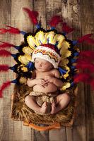 Children's photography clothing / neonatal sweater / hand knitting baby  costumes newborn props / Indiana baby set 0-3moths