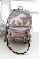 2014 Fashion Unisex Men Women Summer Newest Graffiti Printed Canvas Backpack back Bag CC Hot Sale Original Graffiti Printed