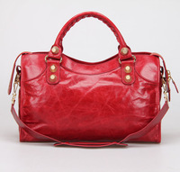 2014 City Bag With Glod Hardware famous designers brand Women's Tote top quality Shoulder Handbags In Lambskin 084332b