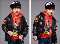 Kids Boys coat 2014 winter new children's coat winter coat jacket